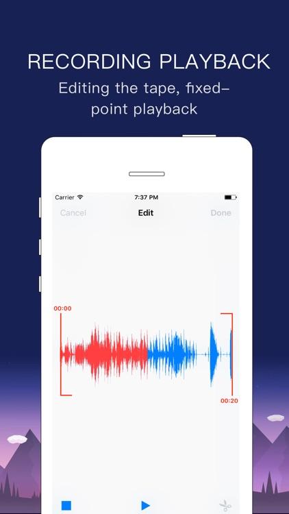 Voice Recorder - free Record Audio Memos