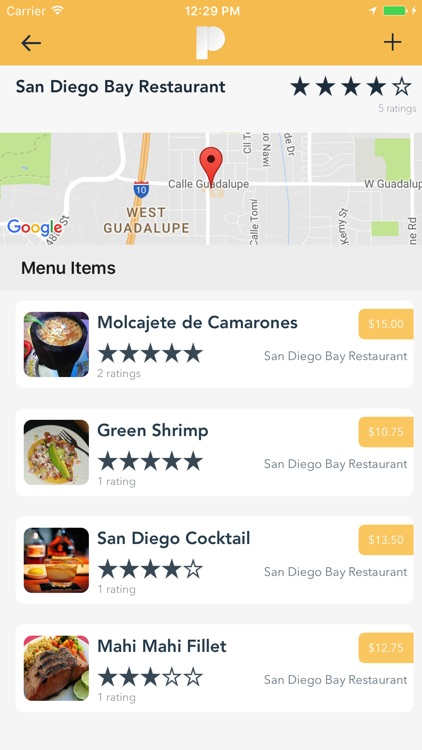 Plate - Find your Favorite Food