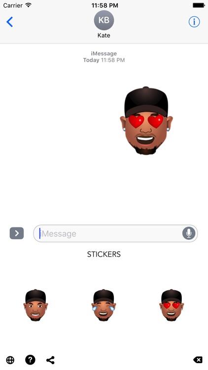 Steve Smith Sr. Stickers screenshot-3