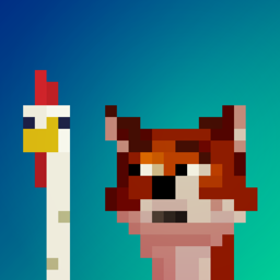 Ícone do app Fox Eats Chicks