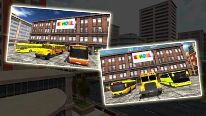 高中公车司机 - 城市巴士模拟器2017 App 截图