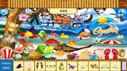 Hidden Objects:Summer Beach Party screenshot one