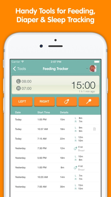 Sprout Baby (Feeding, Sleep & Health Tracker) screenshot-0