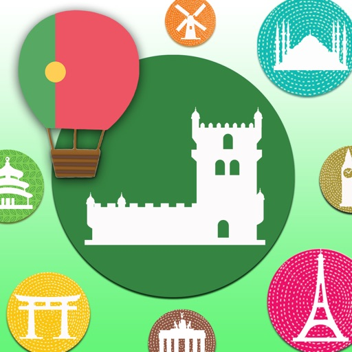 Learn Portugal Portuguese Words&Phrases FlashCards