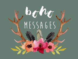 Boho Messages - Watercolor Stickers by Maraquela