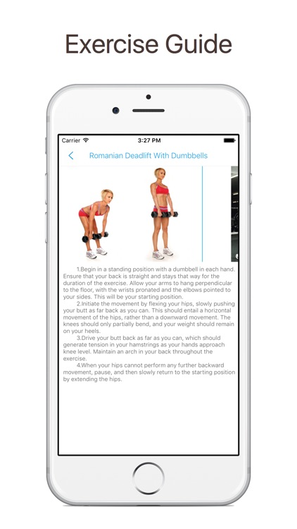 Gym workout and exercises for women - iJockGirl screenshot-3