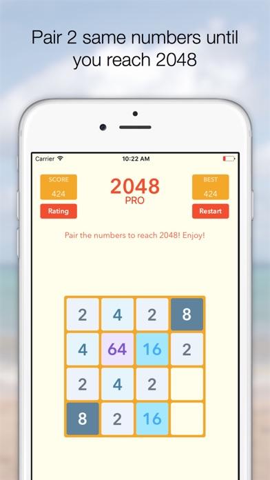 Screenshot #6 for 2048 Tile Pairing Challenge - Professional Version