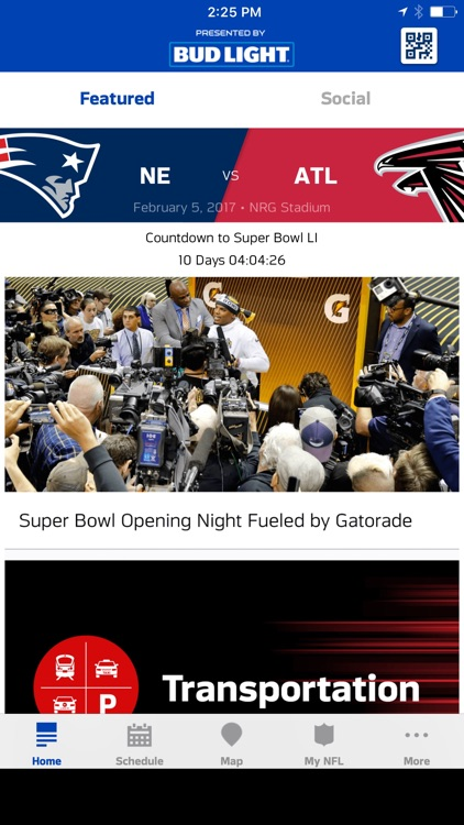 Super Bowl LI Houston - Fan Mobile Pass screenshot-0
