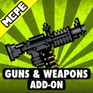 Addons for Minecraft - Guns for PE Pocket Edition app