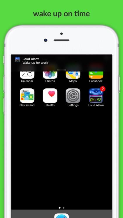 Loud Alarm Clock Best and Loudest Alarms 2 Wake Up screenshot-4