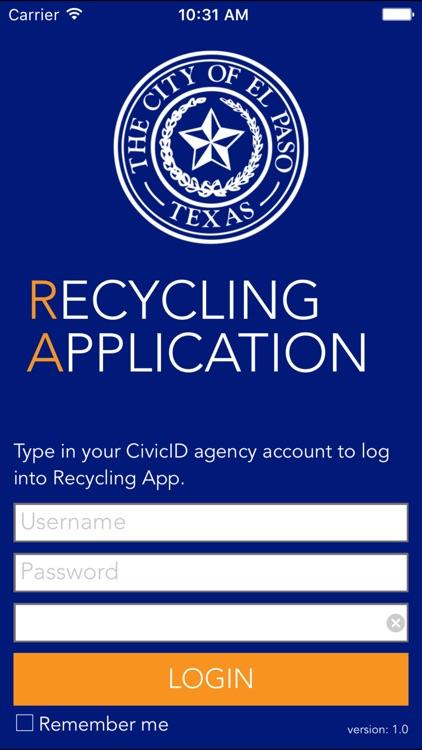 El Paso Recycling App
