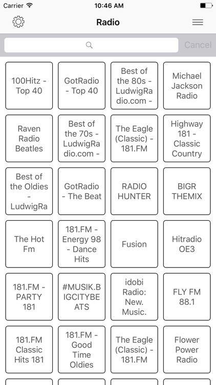 Radio FM Pop online Stations