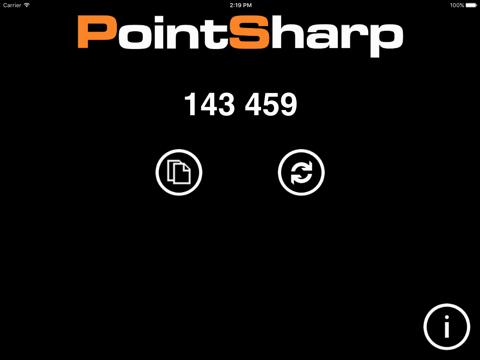 Screenshot of PointSharp