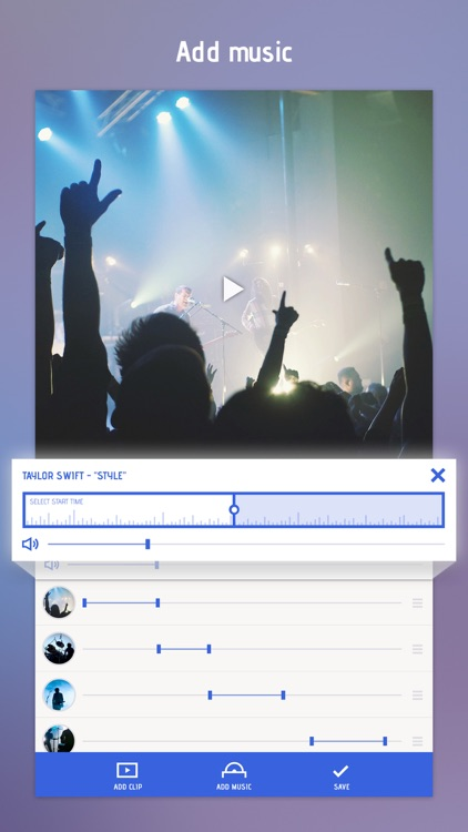 Combine Videos & Clips Together In Video Slideshow screenshot-3