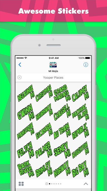 Yooper Places stickers by MI Mojis