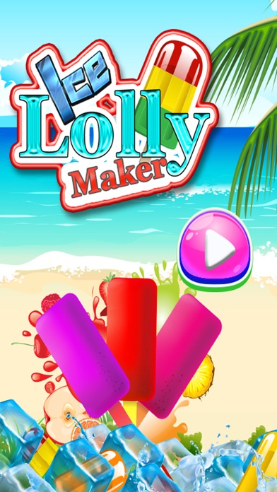 Ice Popsicle and Ice-Cream Maker Game for Kids
