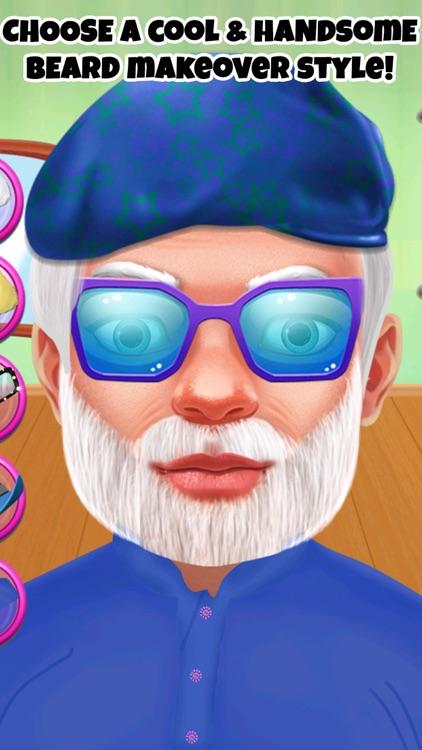 Indian Celebrity Shave Beard Makeover Salon screenshot-3