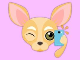Fawn Chihuahua Emoji Stickers