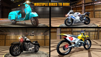VR Highway Moto Bike Racer App 截图