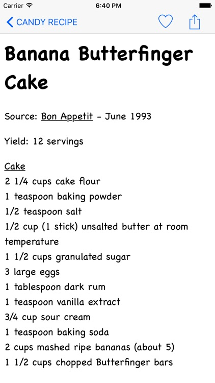 Candy Recipe screenshot-3