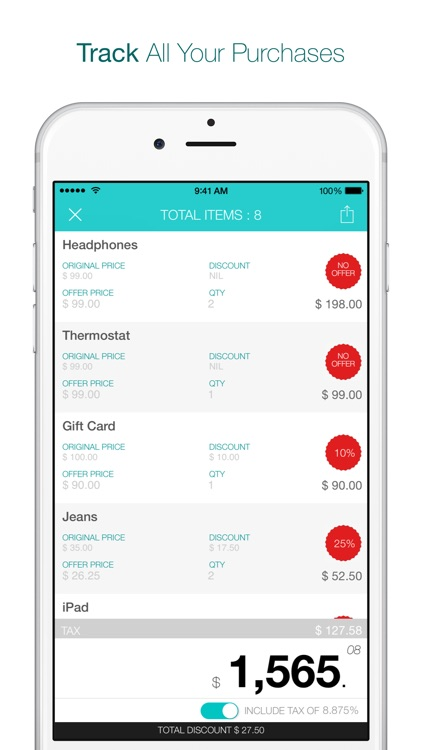 Pick - The Purchase Tracker