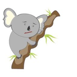 A Cutie Koala Sticker