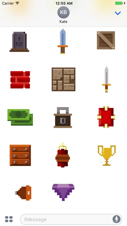 Animated Pixel Game Stickers screenshot-4
