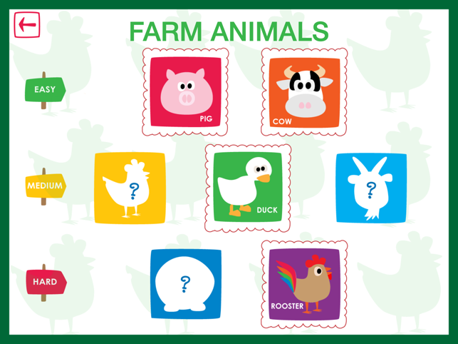 ‎Animal Crosswords - Crosswords for kids Screenshot