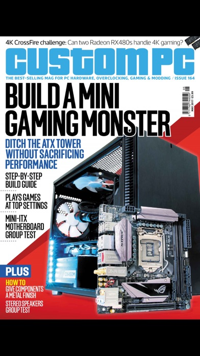 Custom PC Magazine Screenshot on iOS