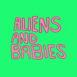 Babies And Aliens Stickers