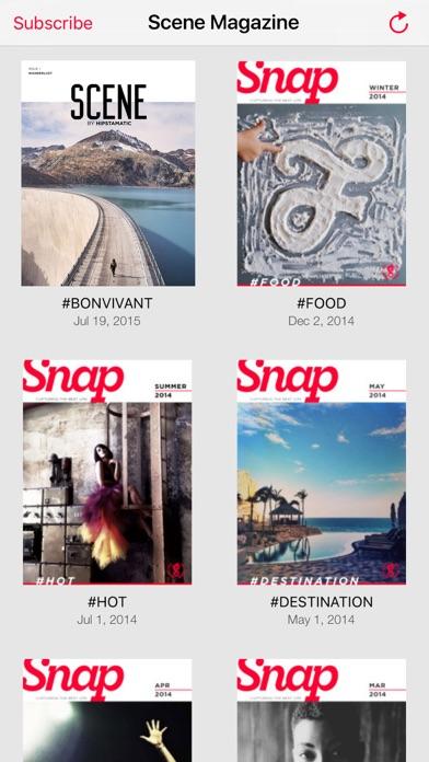 Scene Magazine by Hipstamatic app image