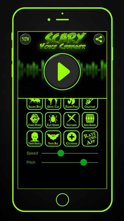 Scary Voice Changer & Recorder screenshot-3