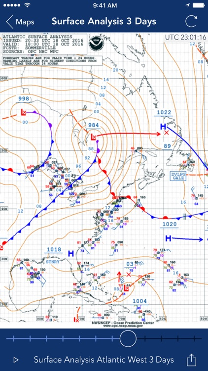 Sea Weather Professional screenshot-3