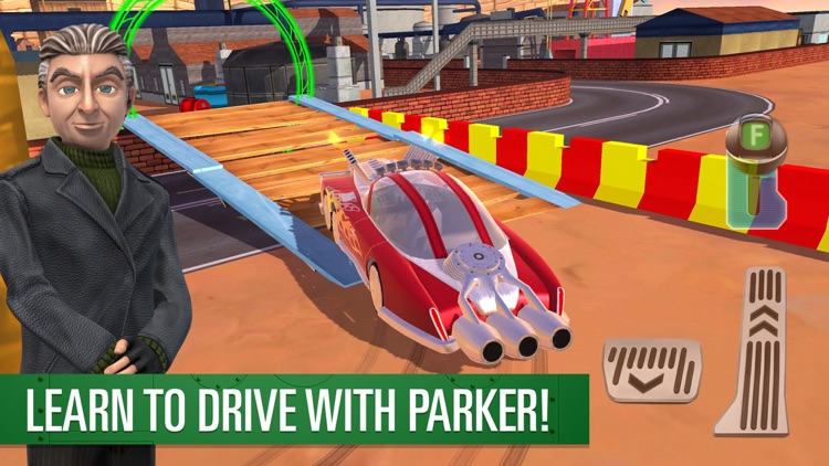 Parker's Driving Challenge Thunderbirds Are Go screenshot-0