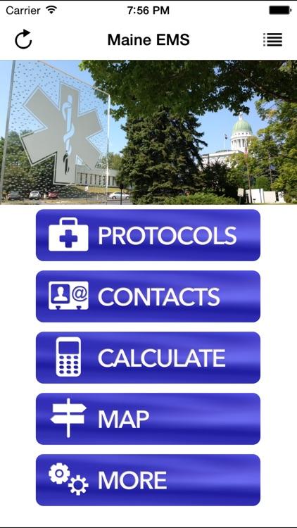 Maine EMS Protocol App