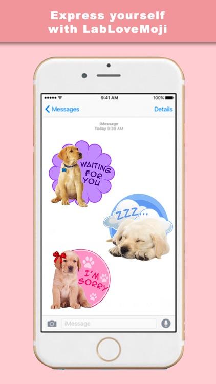 LabLoveMoji - Stickers & Keyboard for Labradors screenshot-3