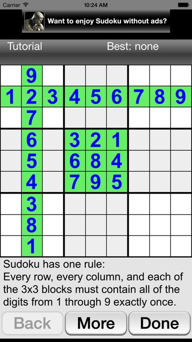 Sudoku Joy by Jason Linhart (iOS, United Kingdom