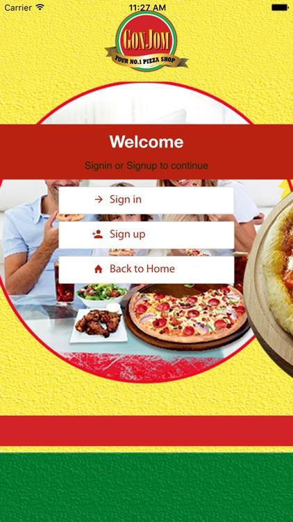 Gonjom Pizza Takeaway screenshot-3