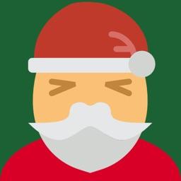 SantaMojis - Christmas Emoji Stickers Keyboard Pro