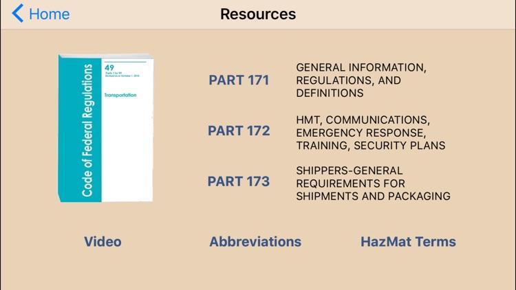 Hazmat Training General Awareness/Familiarization screenshot-4
