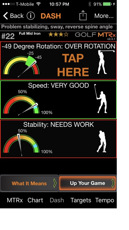 Golf MTRx LT screenshot-0