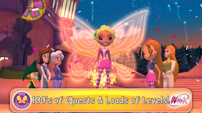 Top 10 Apps like Winx Bloomix Quest Magical 3d Runner in
