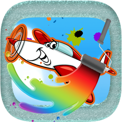 Aircraft Coloring Book : drawing games for kids