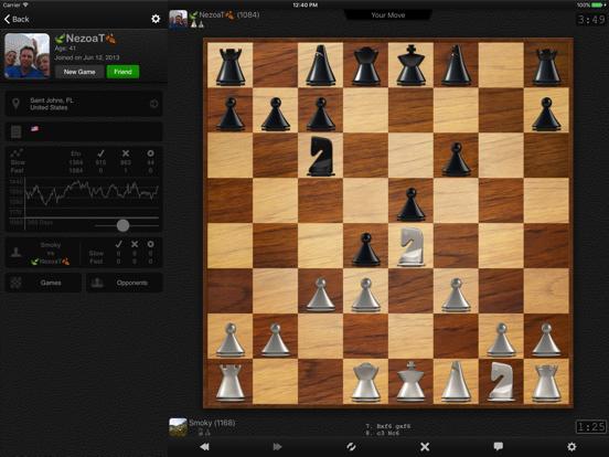 шахматы - Social Chess для iPad