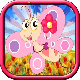 caterpillar butterfly puzzle macth