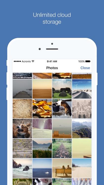 Acronis True Image: Mobile screenshot-3