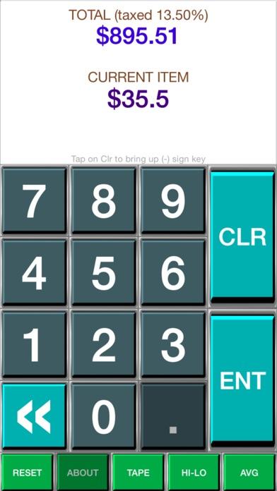 Shopping Calculator - Groceries Calculator app image