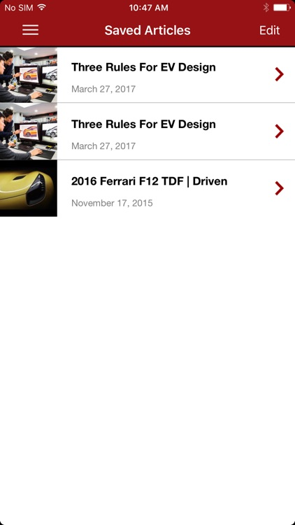 Automobile Magazine News screenshot-4