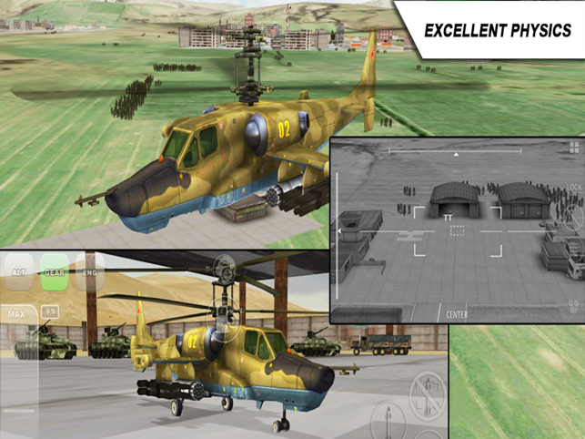 ‎Helicopter sim Black Shark HD Screenshot