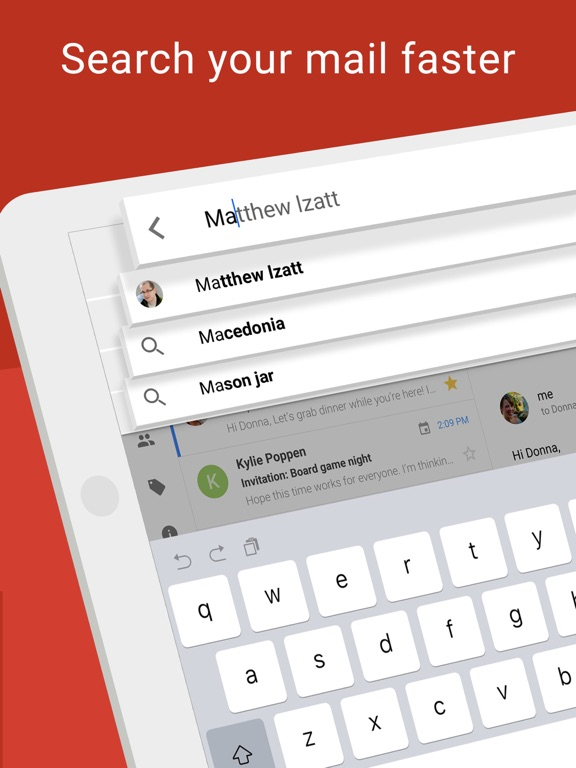 Image of Gmail - Email by Google for iPad